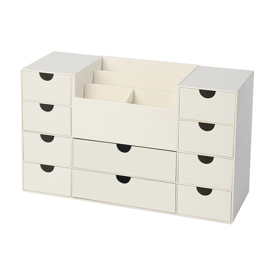 Simple Style Drawer Type Multifunction Office Stationery Storage Box