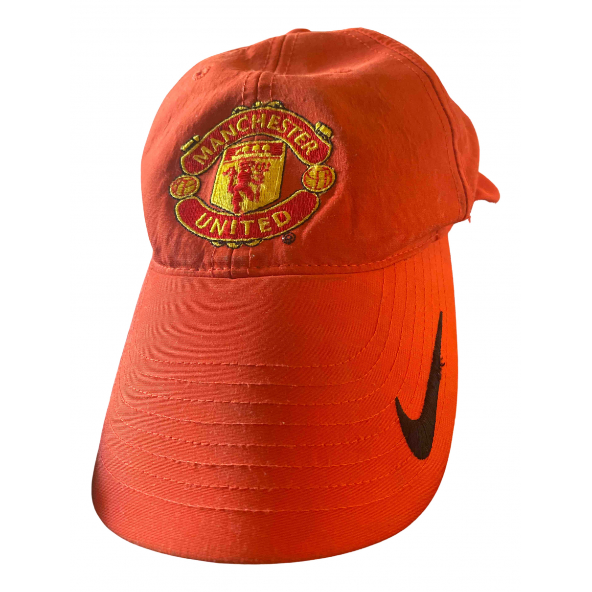 Nike \N Red Cotton hat & pull on hat for Men 54 cm