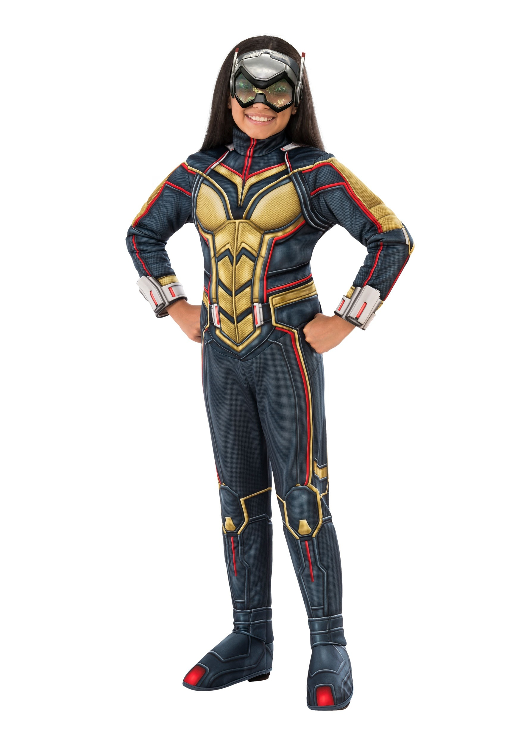 Ant-Man and the Wasp Wasp Costume for Girls