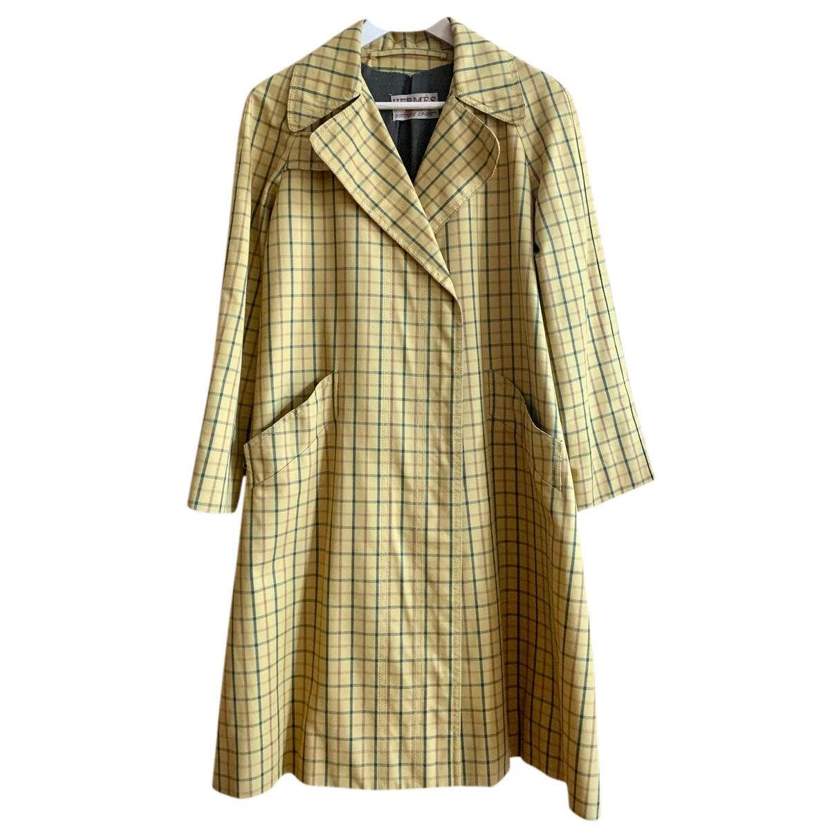 Hermes - Manteau   pour femme en coton