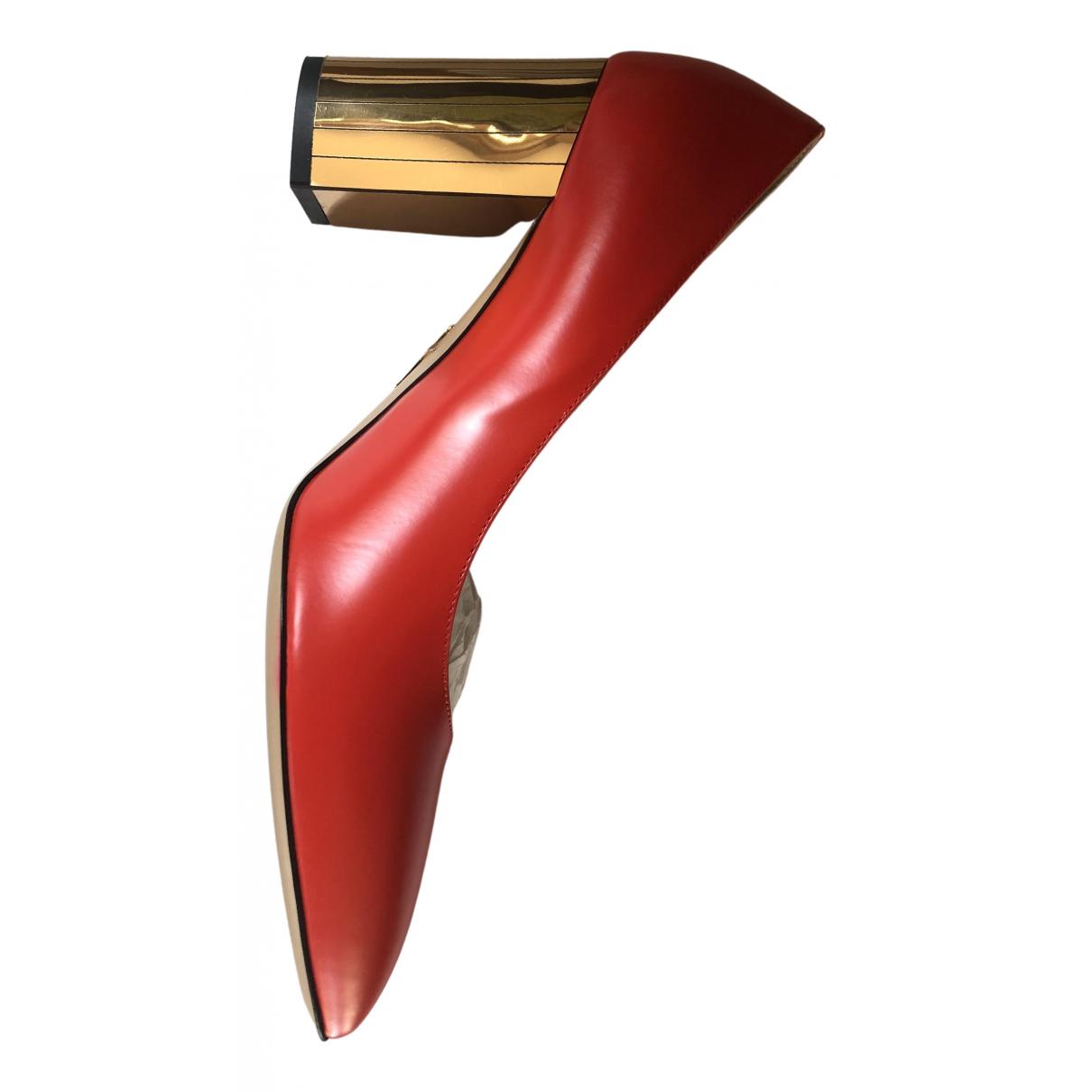 Charlotte Olympia \N Pumps in  Rot Leder