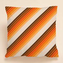 Kissenbezug mit Streifen Muster ohne Fuelle