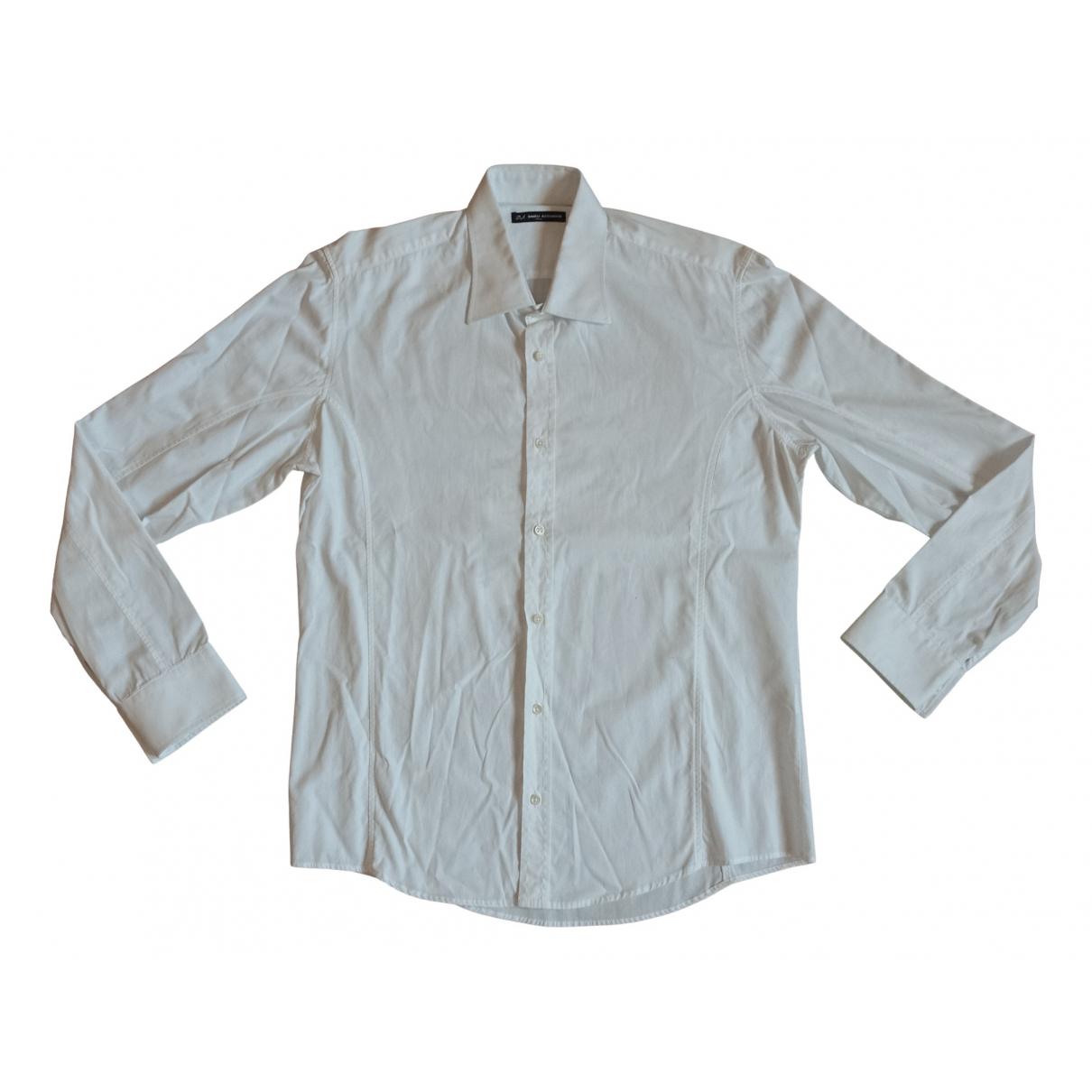 Daniele Alessandrini - Chemises   pour homme en coton - blanc