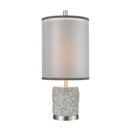 D4236 Rock On Table Lamp  In Brushed