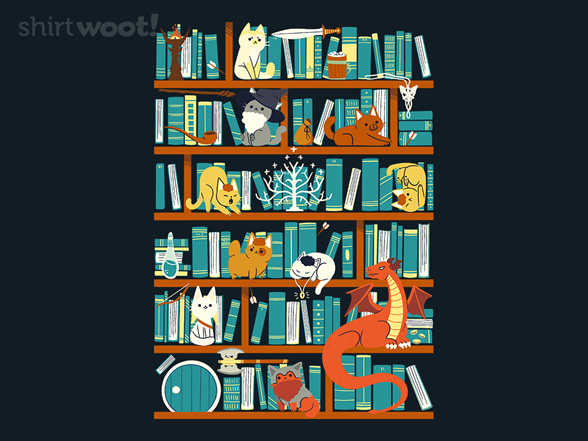 Library Of The Ring T Shirt