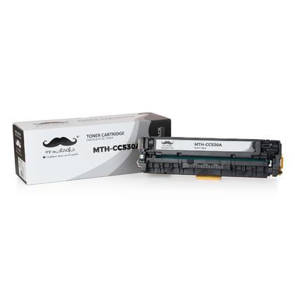 Compatible HP 304A CC530A cartouche de toner noire - Moustache@