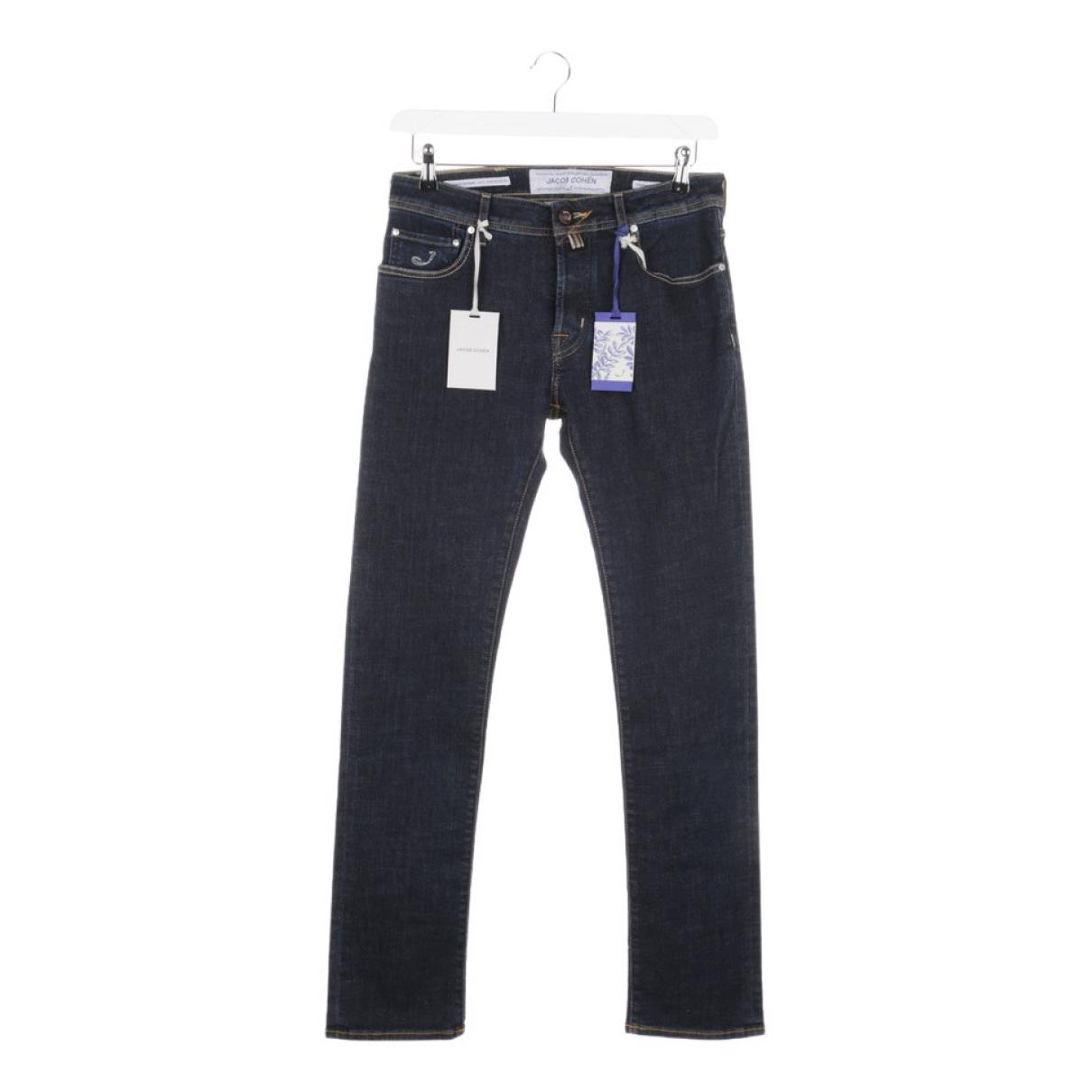 Autre Marque \N Blue Cotton Jeans for Women 32 FR
