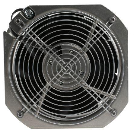 ebm-papst , 230 V ac, AC Axial Fan, 225 x 225 x 80mm, 1031m³/h, 80W