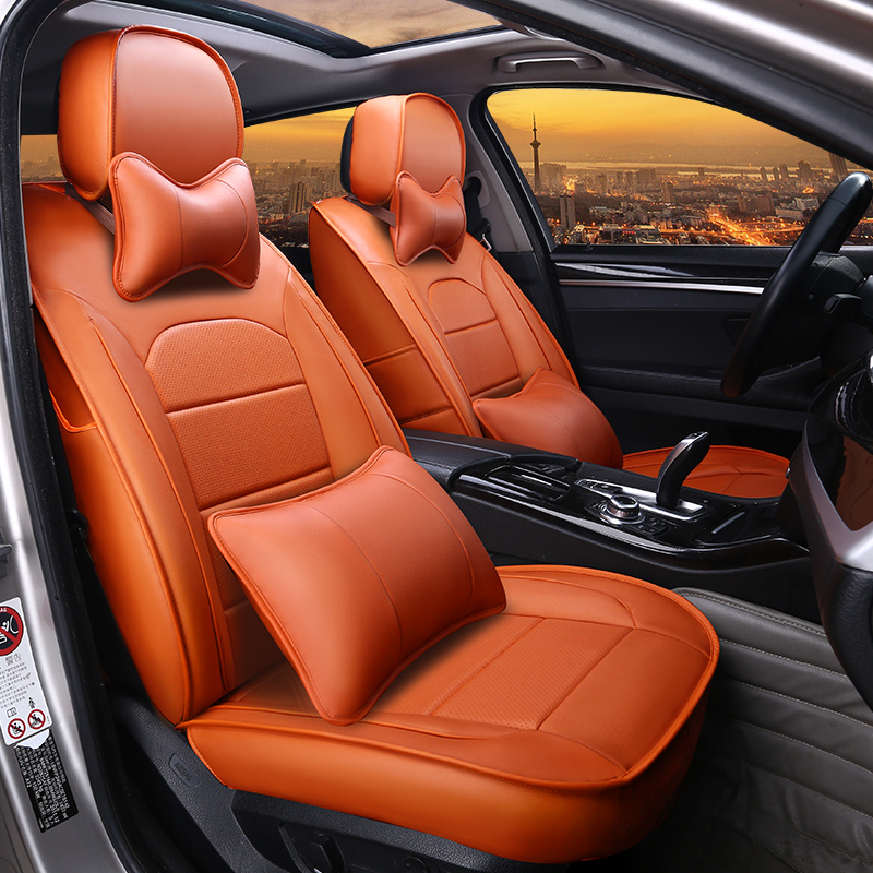 Classical Smooth Soft Comfortable Luxurious Custom Car Seat Covers Anti-skid Wear-resistant Dirt-resistant Durable And Breathable