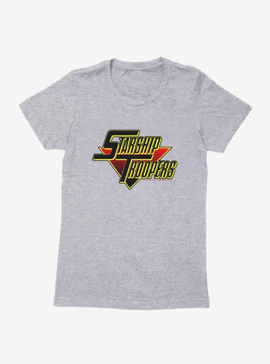 Starship Troopers Bold Logo Womens T-Shirt