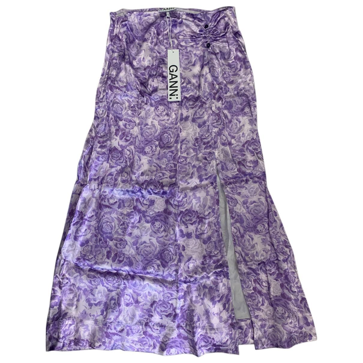Ganni - Jupe Spring Summer 2020 pour femme - violet