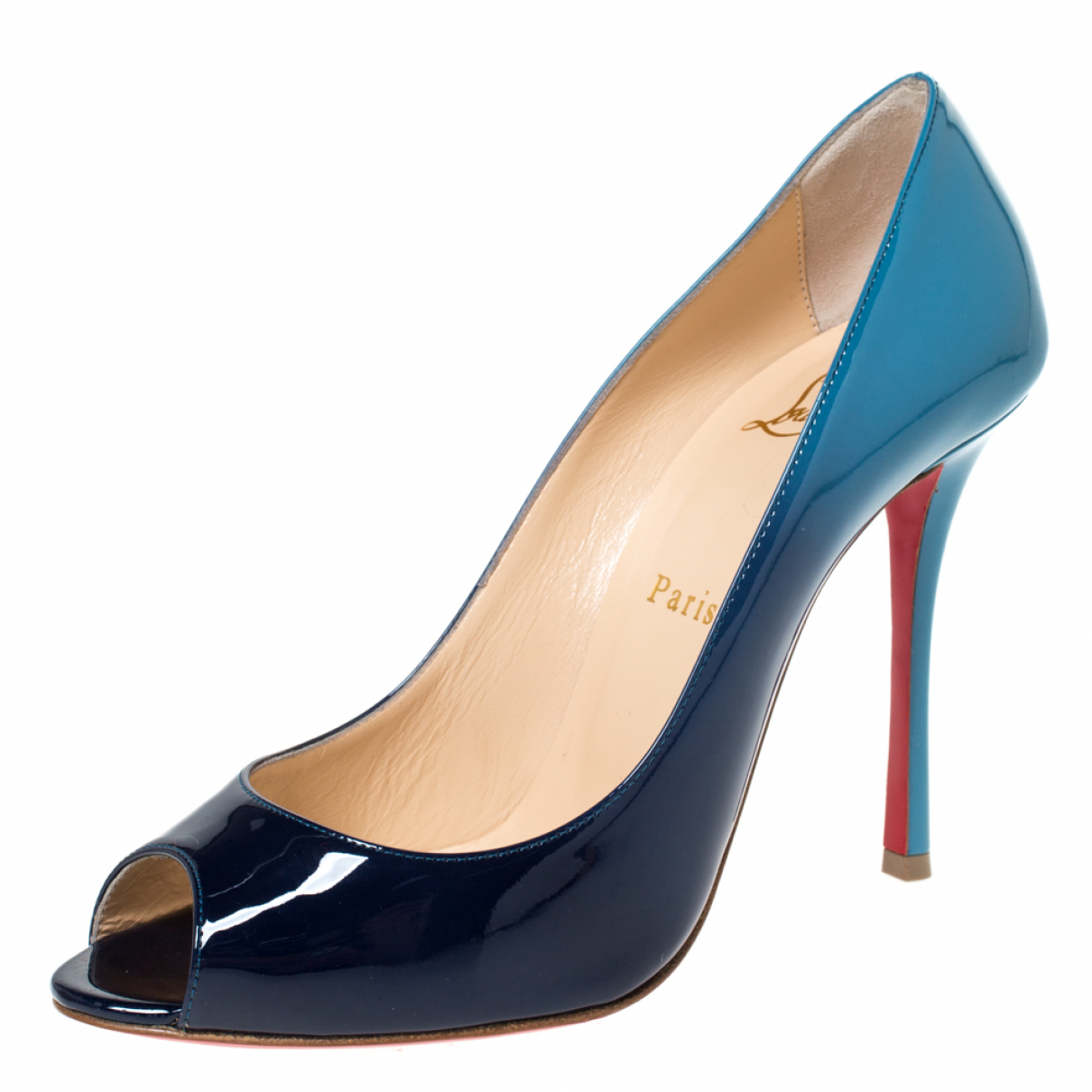 Christian Louboutin N Patent leather Sandals for Women 8.5 US