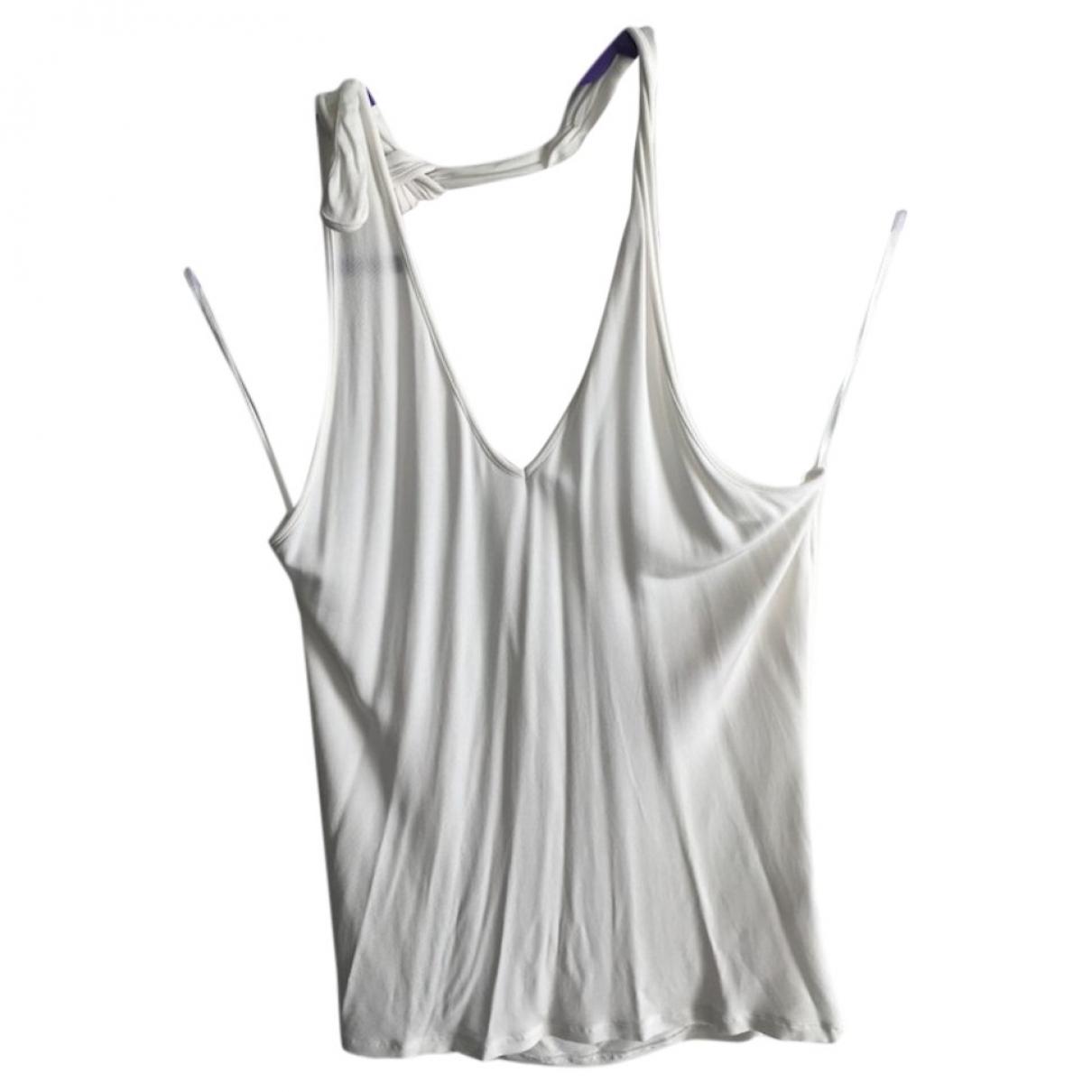 Versace Jeans \N Top in  Weiss Baumwolle