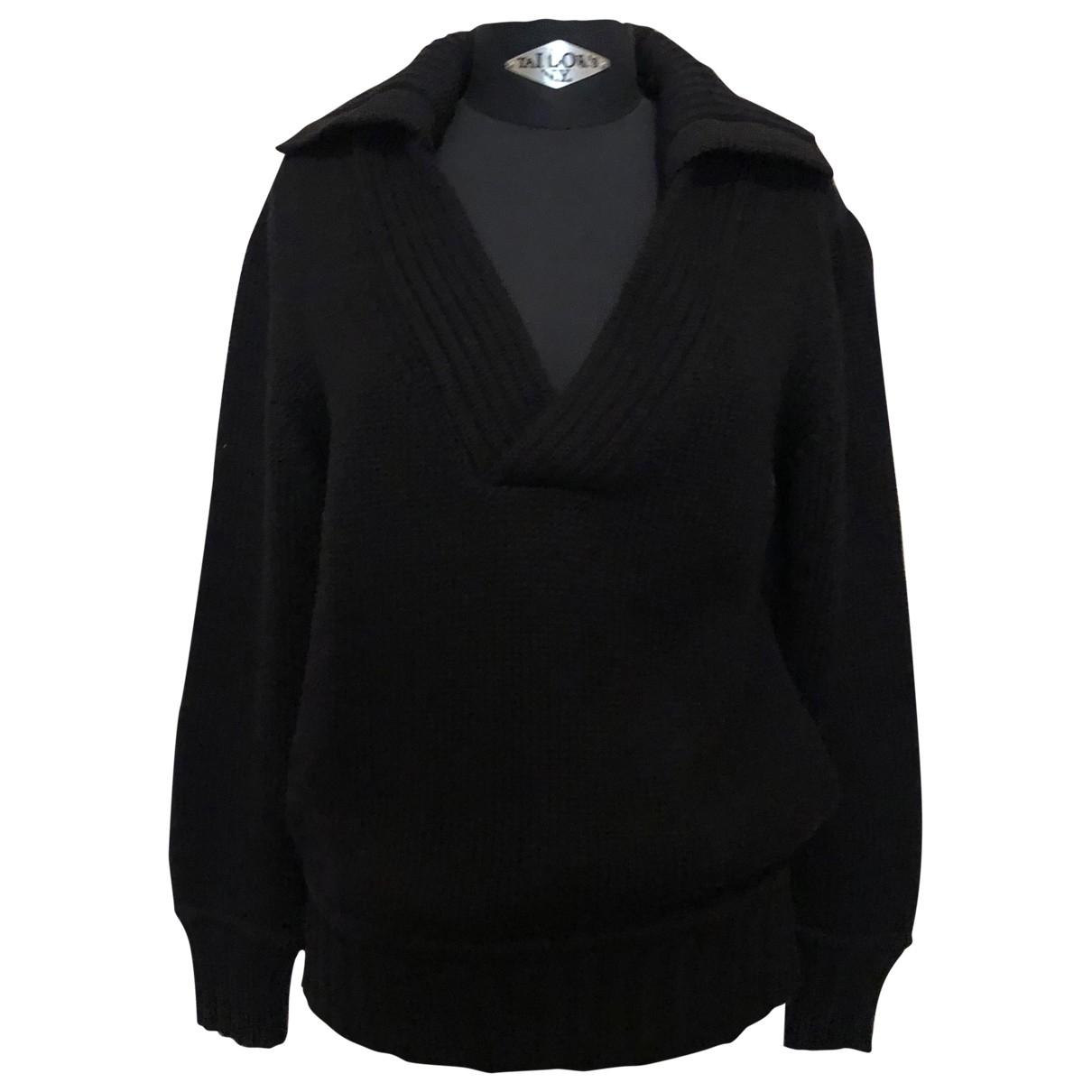 Y-3 - Pulls.Gilets.Sweats   pour homme en laine - noir