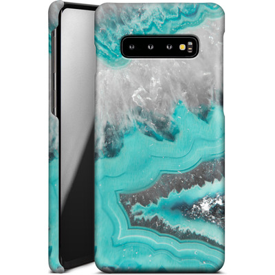 Samsung Galaxy S10 Plus Smartphone Huelle - Water Agate von Emanuela Carratoni