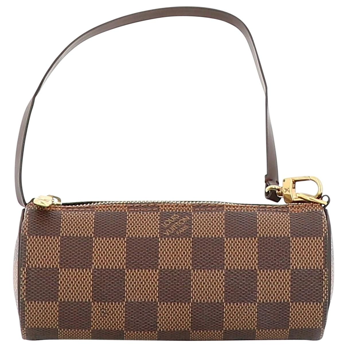 Louis Vuitton - Pochette Papillon pour femme en toile - marron