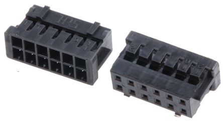 Hirose , DF11 Female Connector Housing, 2mm Pitch, 12 Way, 2 Row (25)