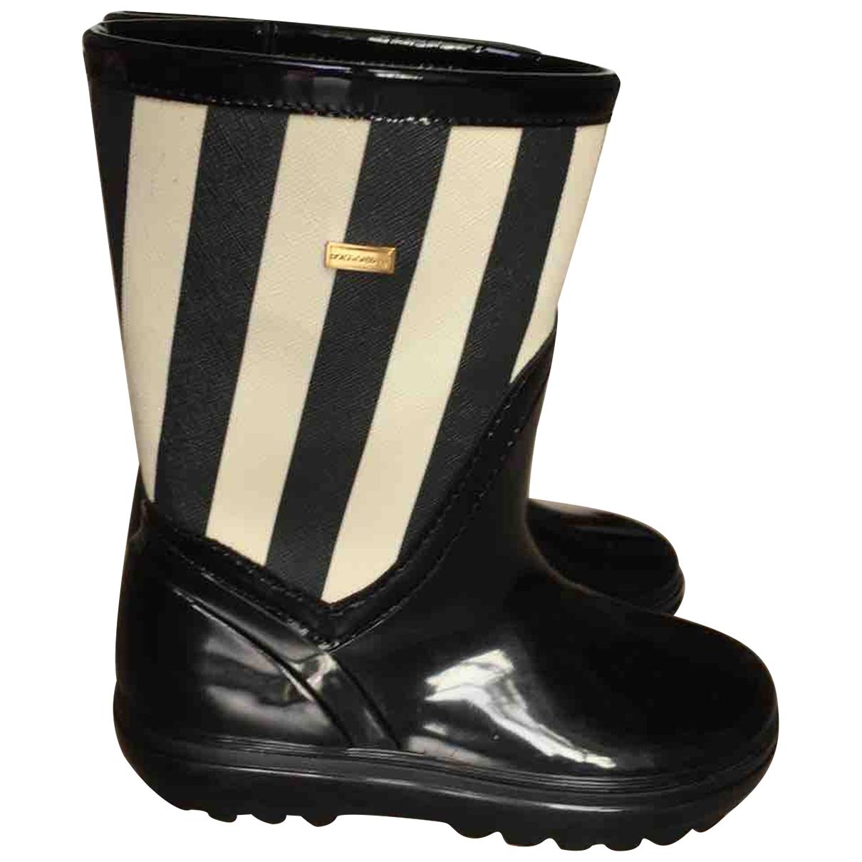 Dolce & Gabbana \N Black Rubber Boots for Kids 33 EU