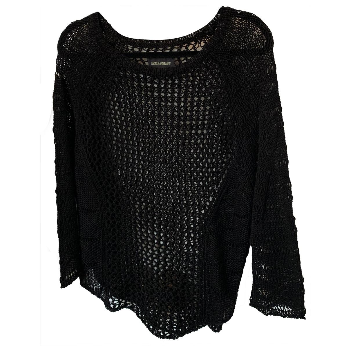 Zadig & Voltaire \N Black Linen Knitwear for Women 36 FR