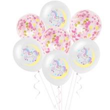 15pcs Unicorn Print Balloon Set