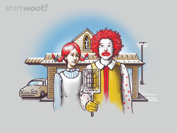 American Restaurant T Shirt
