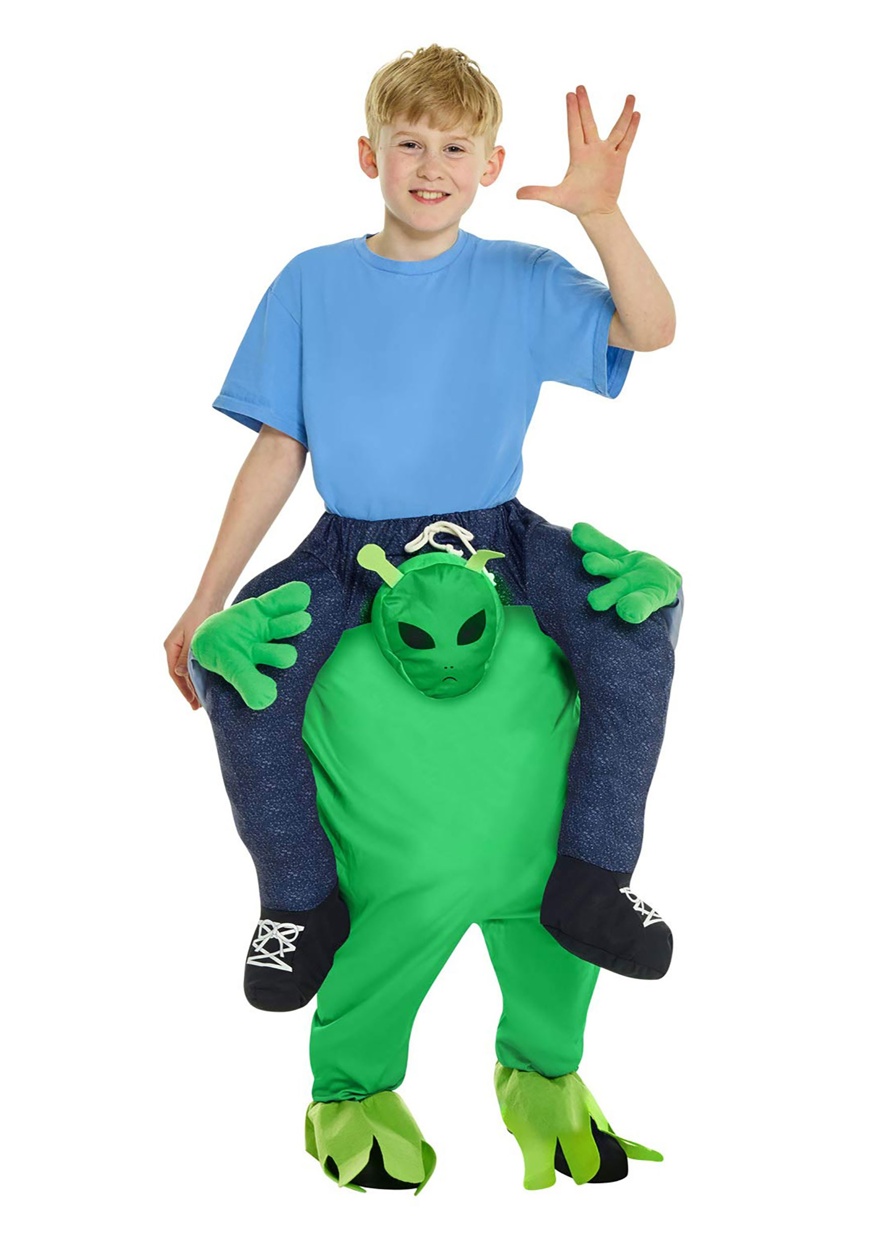 Alien Piggyback Costume for a Child
