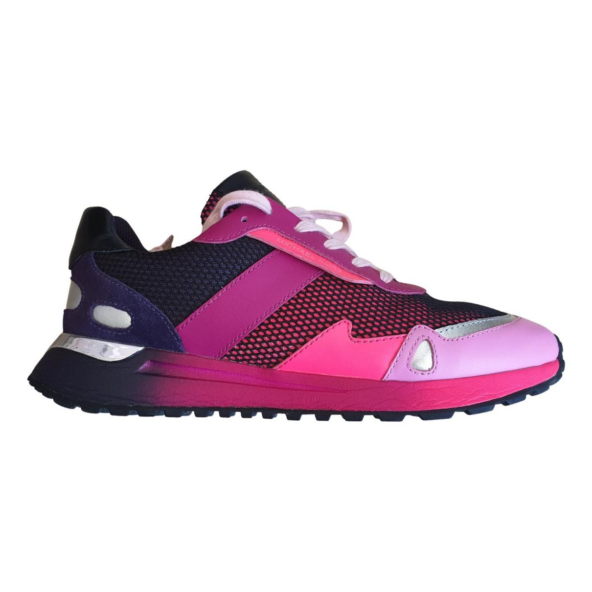 Michael Kors \N Sneakers in  Lila Leder