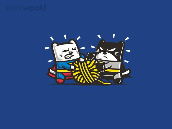 Supercat Vs Batcat T Shirt