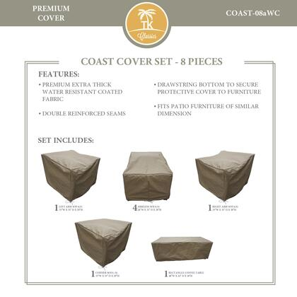 COAST-08aWC Protective Cover Set  for COAST-08a in