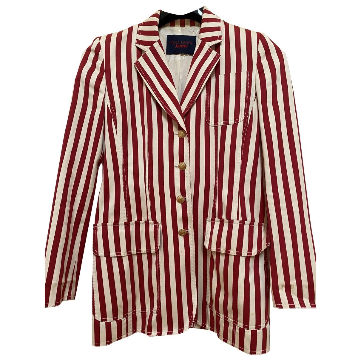 Rena Lange \N Jacke in  Rot Polyester