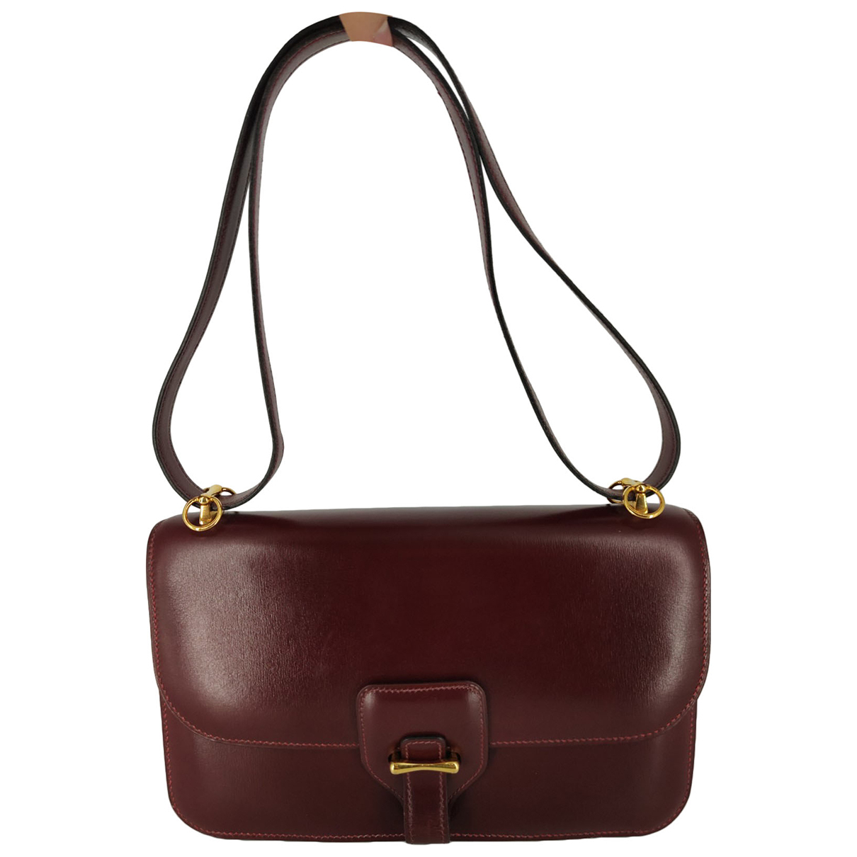 Hermès Dolly  Burgundy Leather handbag for Women N