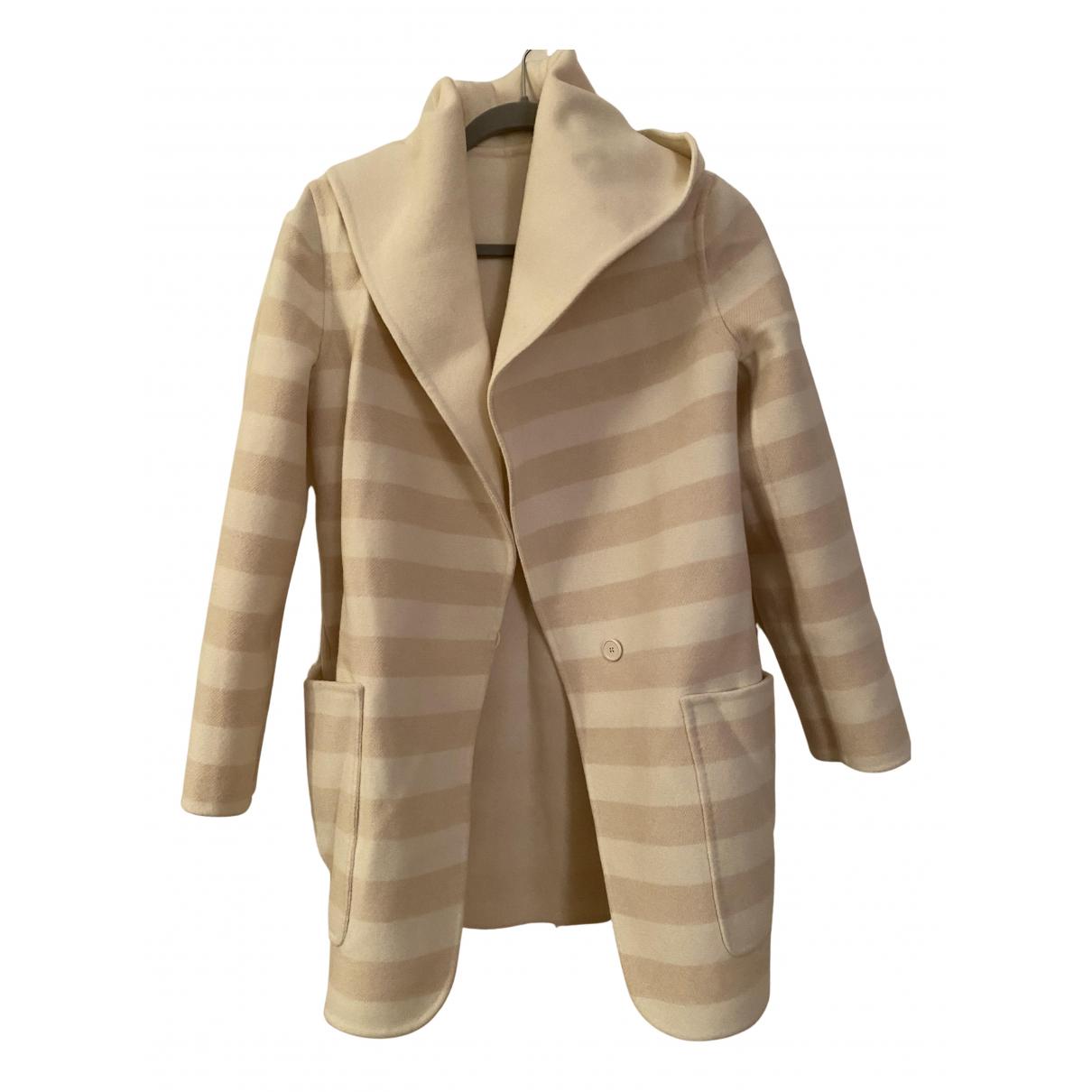 Max Mara - Manteau   pour femme en cachemire - beige