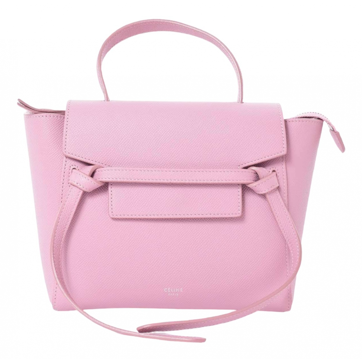 Celine Belt Pink Leather handbag for Women \N