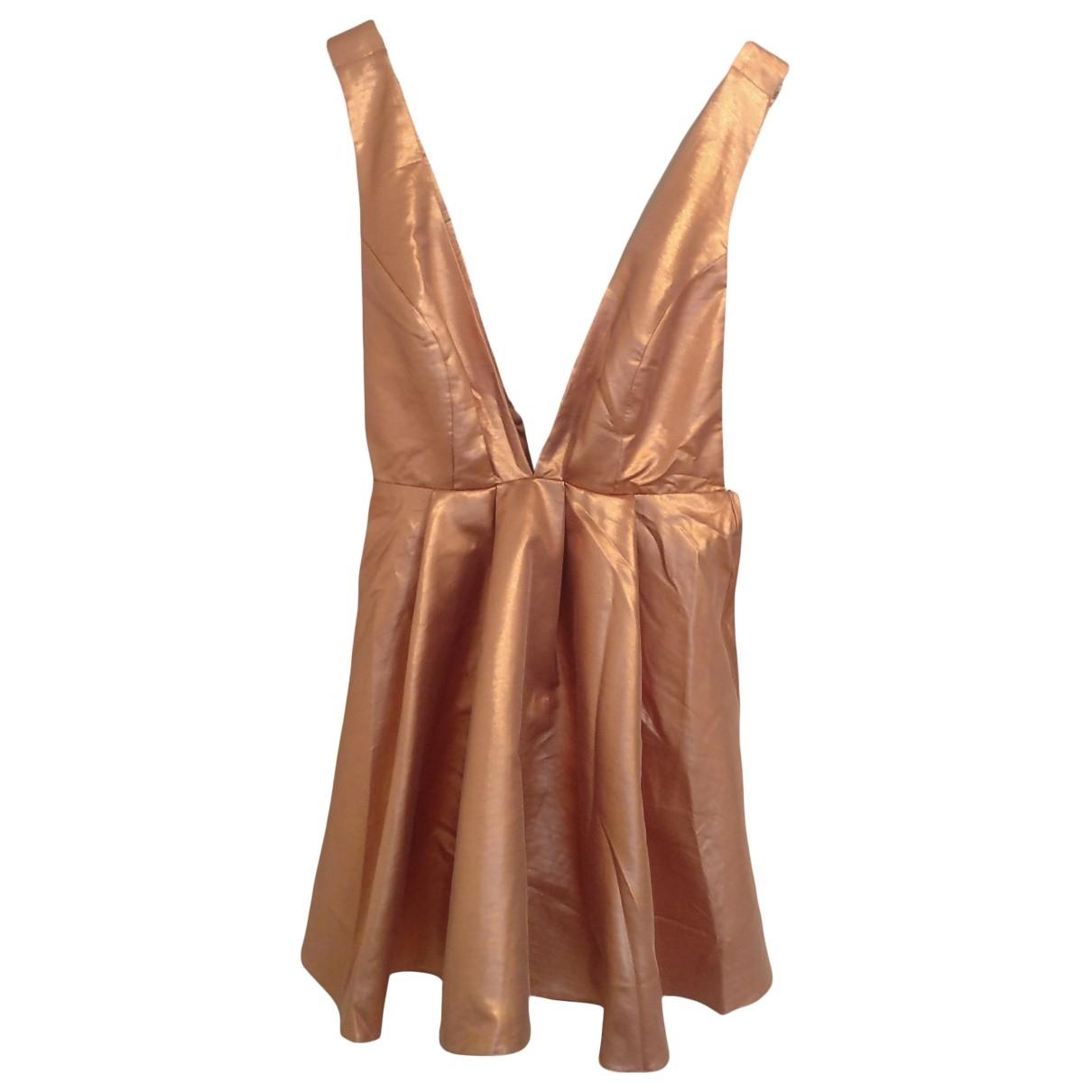 Asos \N Kleid in  Metallic Mit Pailletten