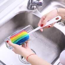 Cepillo de taza de color de arcoiris