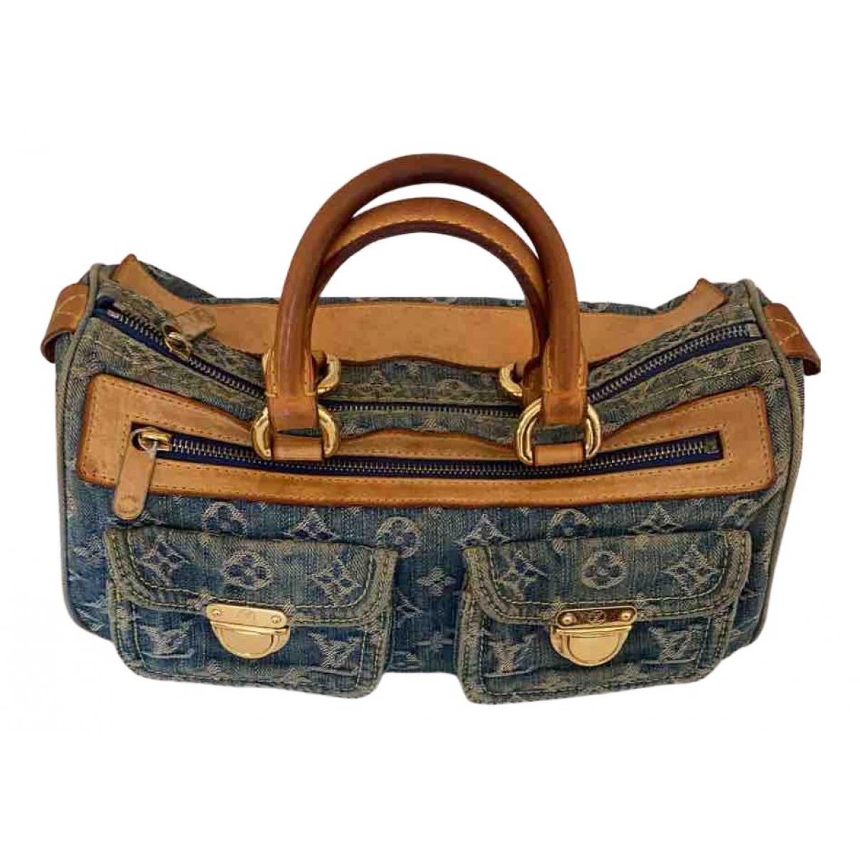 Louis Vuitton N Blue Denim - Jeans handbag for Women N