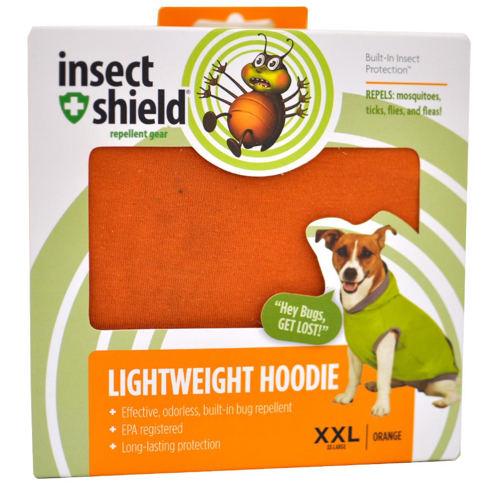 Insect Shield Lightweight Hoodie XXLarge - Orange