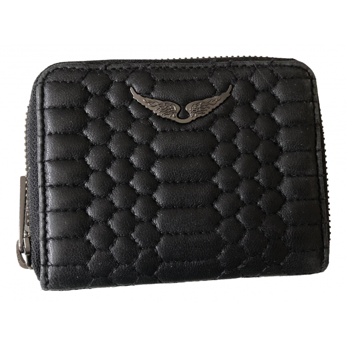 Zadig & Voltaire \N Black Leather wallet for Women \N