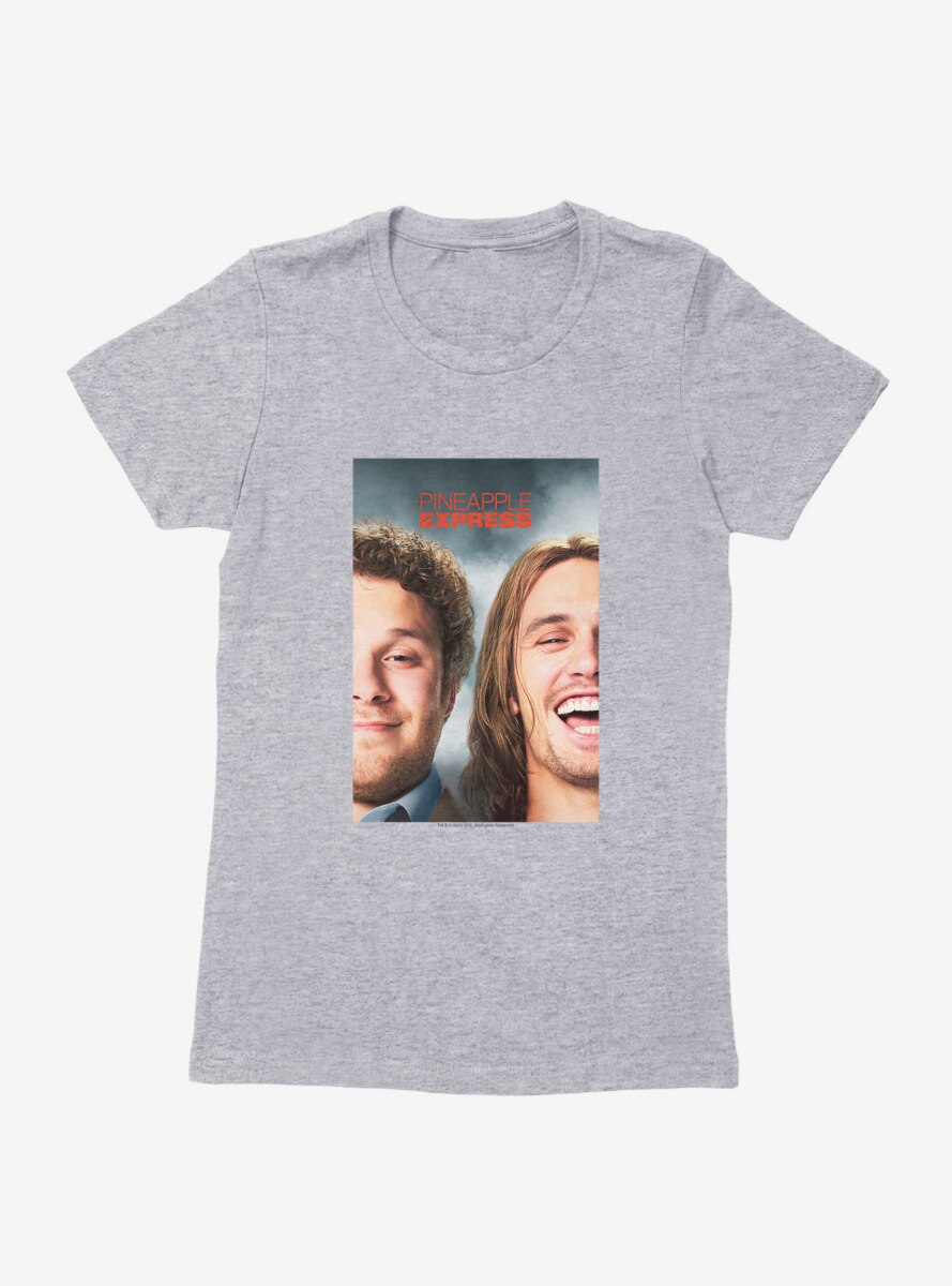 Pineapple Express Movie Poster Womens T-Shirt