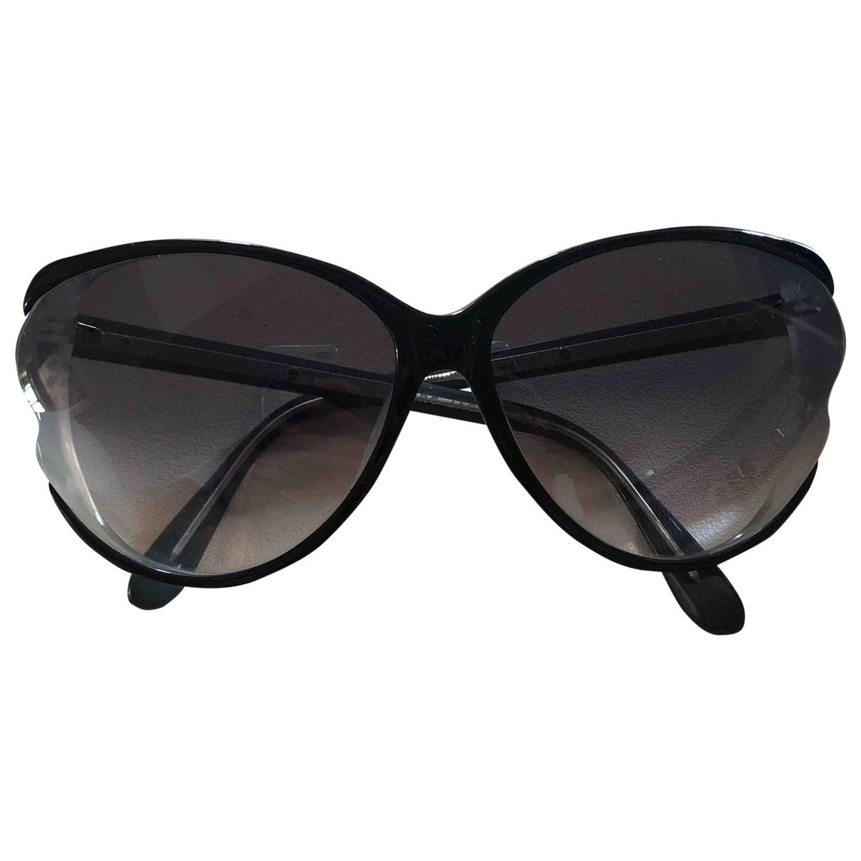 Marc By Marc Jacobs \N Sonnenbrillen in  Schwarz Kunststoff