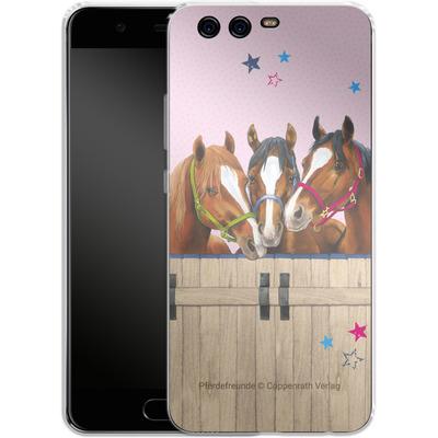 Huawei P10 Silikon Handyhuelle - Pferdefreunde 3 von Pferdefreunde