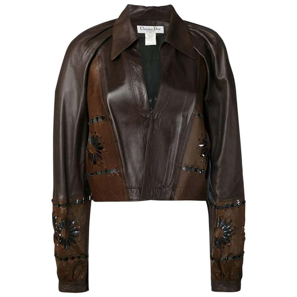 Dior \N Brown Leather jacket for Women 40 FR