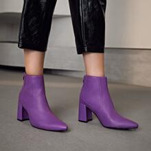 Chelsea Stiefel mit spitzem Zehenbereich