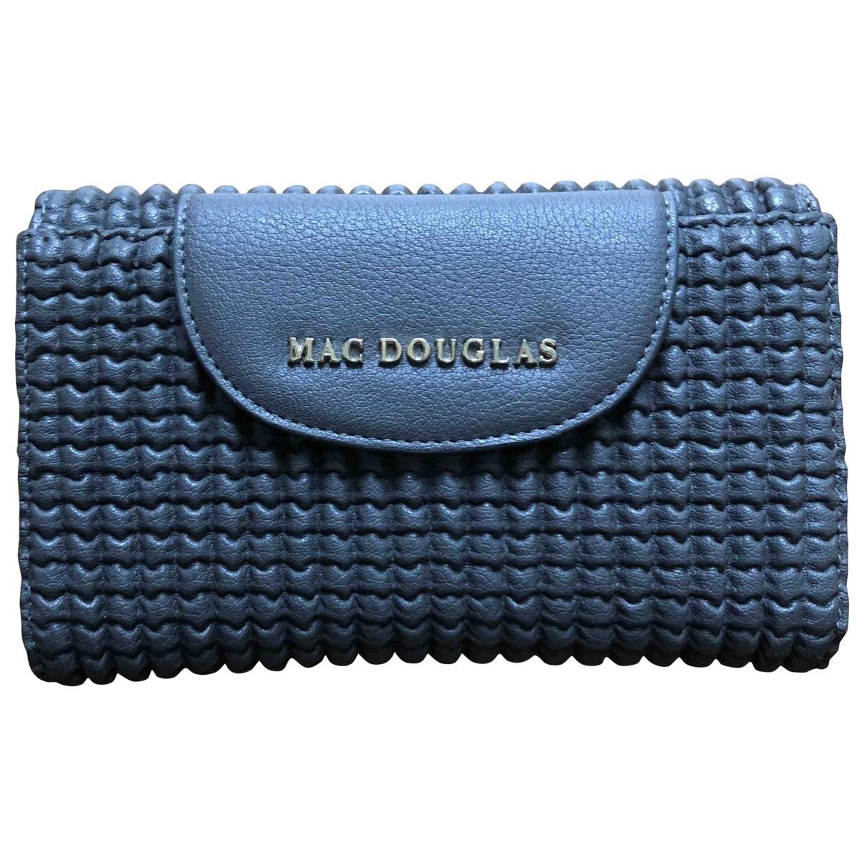 Mac Douglas \N Grey Leather Purses, wallet & cases for Women \N