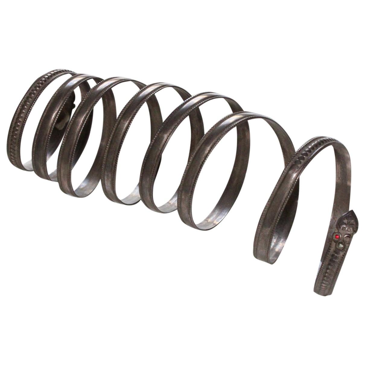- Bracelet   pour femme en plaque argent - metallise