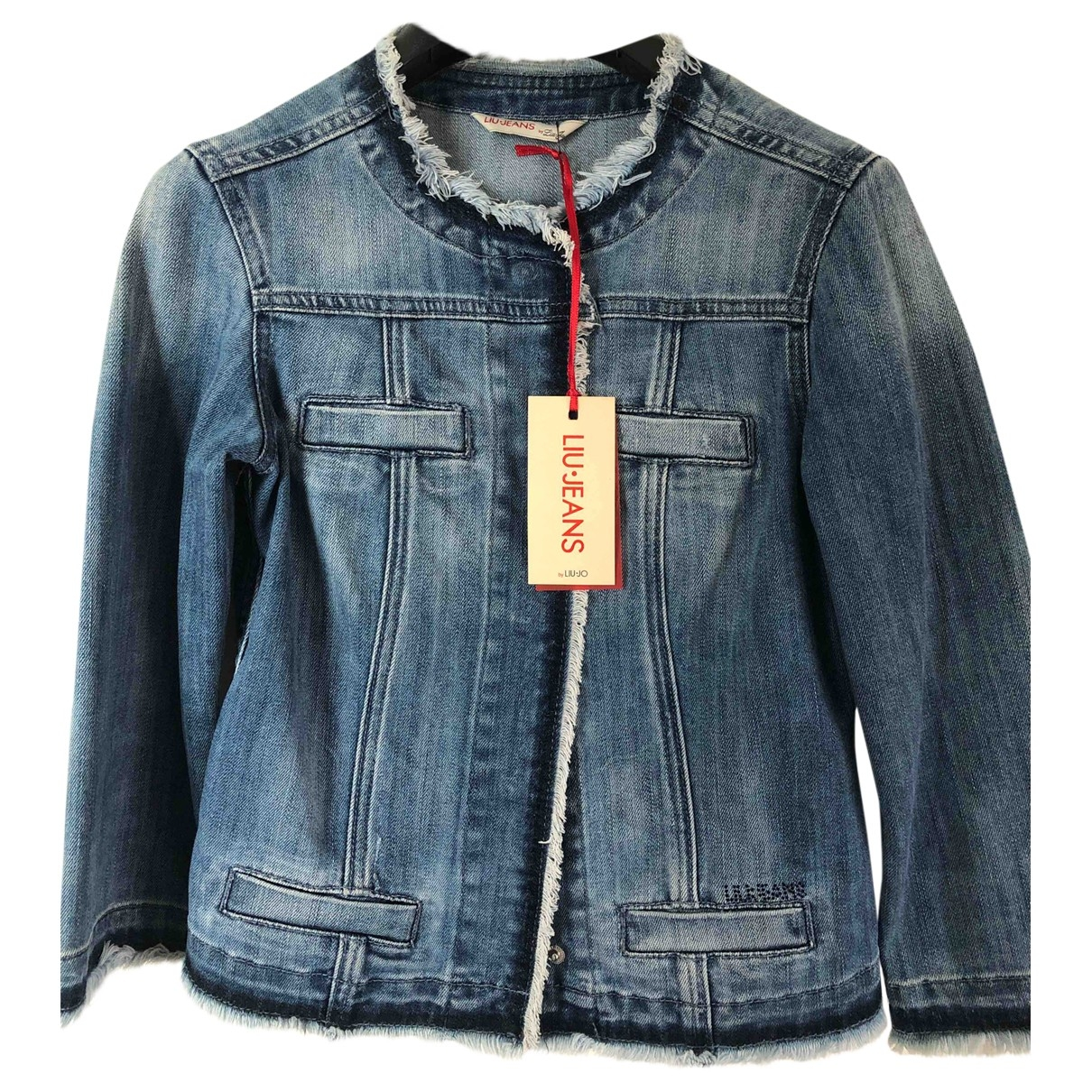 Liu.jo \N Jacke in  Blau Denim - Jeans