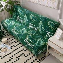 Sofabezug mit Blatt Muster