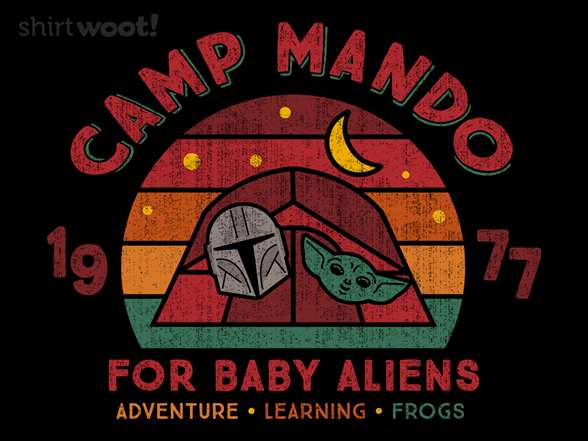 Camp Mando T Shirt