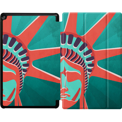 Amazon Fire HD 10 (2017) Tablet Smart Case - Statue Of Liberty von Mark Ashkenazi