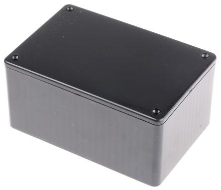 Hammond 1591, Black ABS Enclosure, IP54, 120 x 80 x 59mm